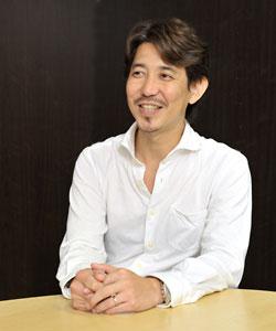 お客様インタビューにて 柳田店長