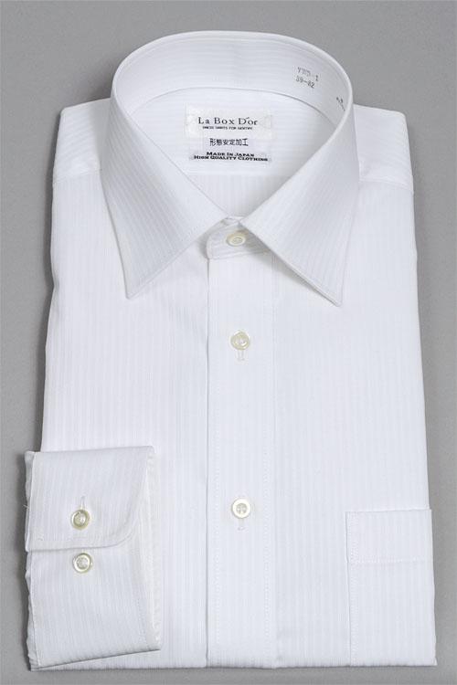 YWD-1-WHITE メンズ白シャツ
