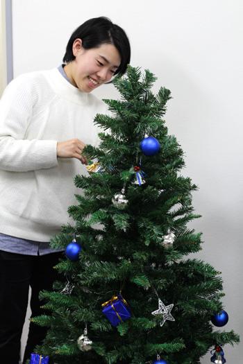 クリスマスツリー装飾・オジエの新しい仲間