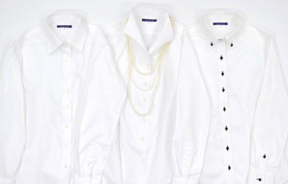 レディース・白シャツ