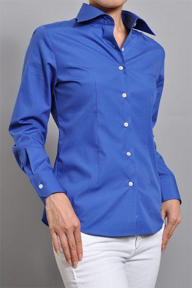 5965LW-4-BLUE レディースシャツ