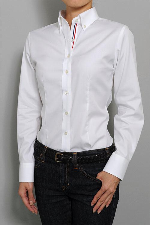 レディース・ボタンダウンシャツ | 6274-A10-1