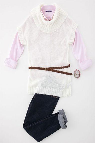 レディース・ボタンダウンシャツ | 6274-A10-3