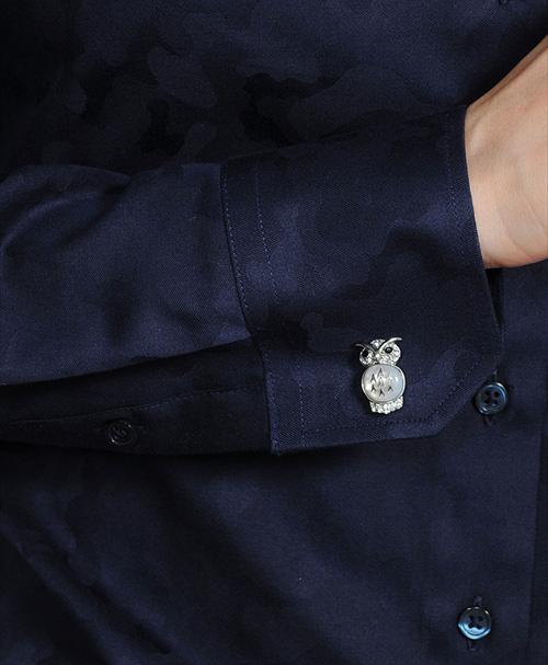 レディースシャツ 6071-c11-b サイモンカーターカフリンクス SI030