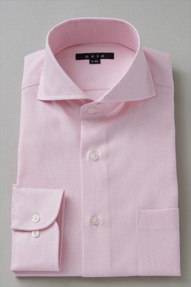 8070-I03I からみ織シャツ
