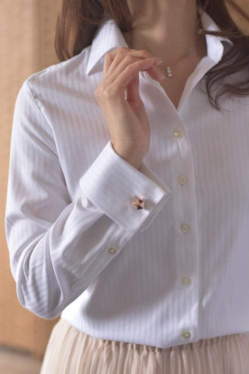 ozie|オジエ ブランドカタログメイキング レディースシャツ