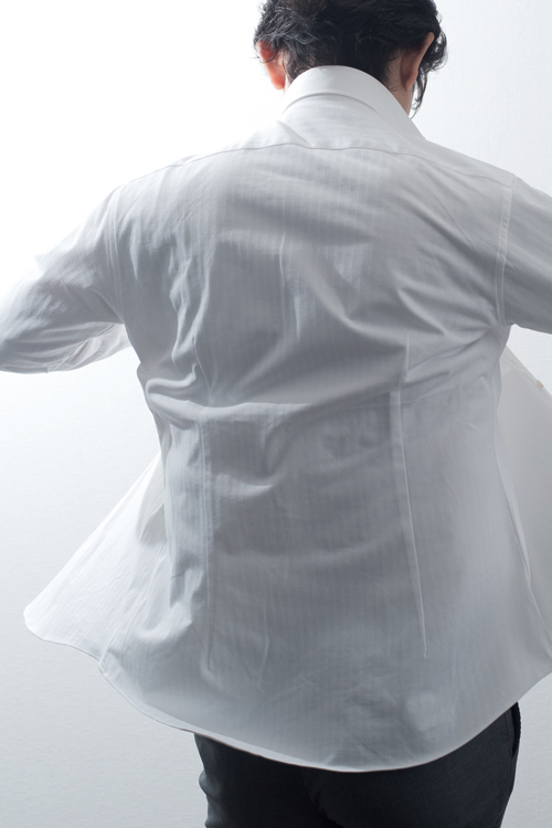 ozie|オジエ メンズ白シャツ
