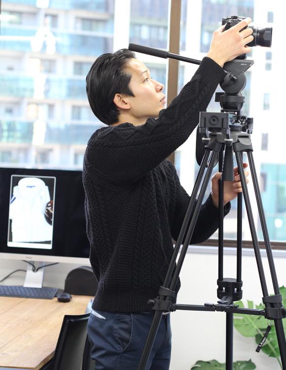 オジエ・動画メイキング カメラマン