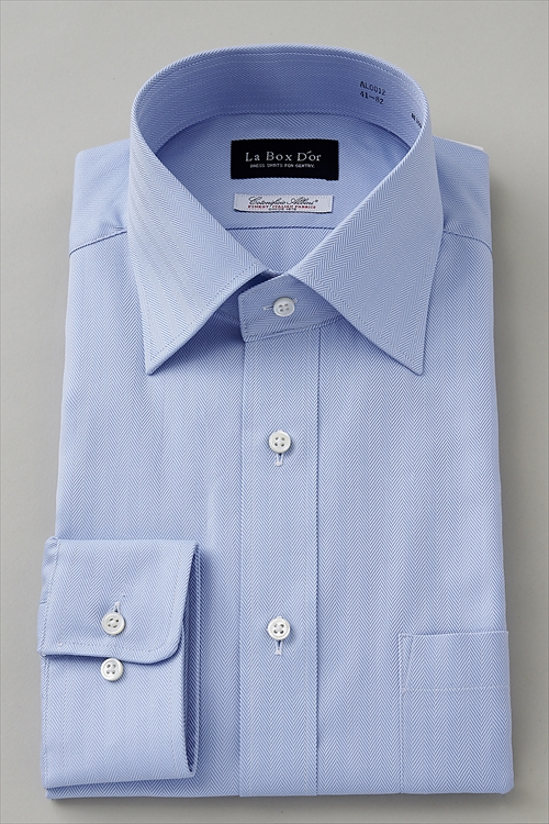 ozie|オジエ AL0012-V06B  ワイドカラーシャツ