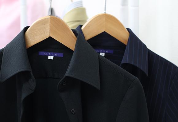 ozie オジエ レディース・ニットシャツ・ポロシャツ・ビズポロ 紫外線UVカット 6046-E05-2