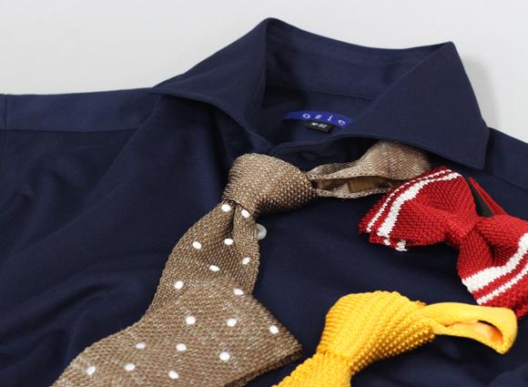 オジエ|ozie ビズポロニットシャツ・ホリゾンタルカラー 8014