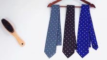 ネクタイのお手入れ方法