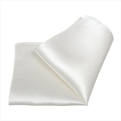 ozie|オジエ ポケットチーフ CH-WHITE1