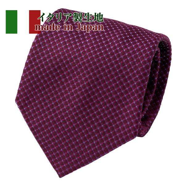 ozie|オジエ NI-232 イタリア製生地使用ネクタイ