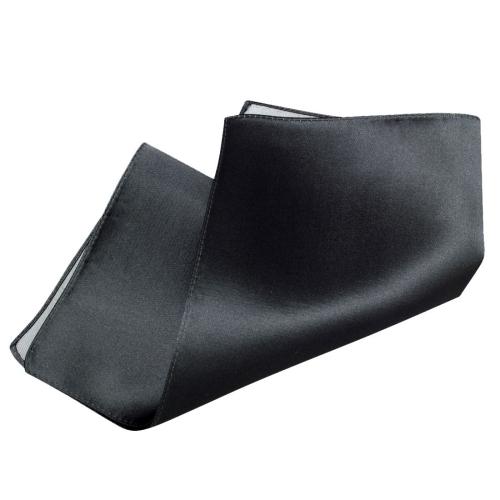 ozie|オジエ シルク100%ポケットチーフ グレー