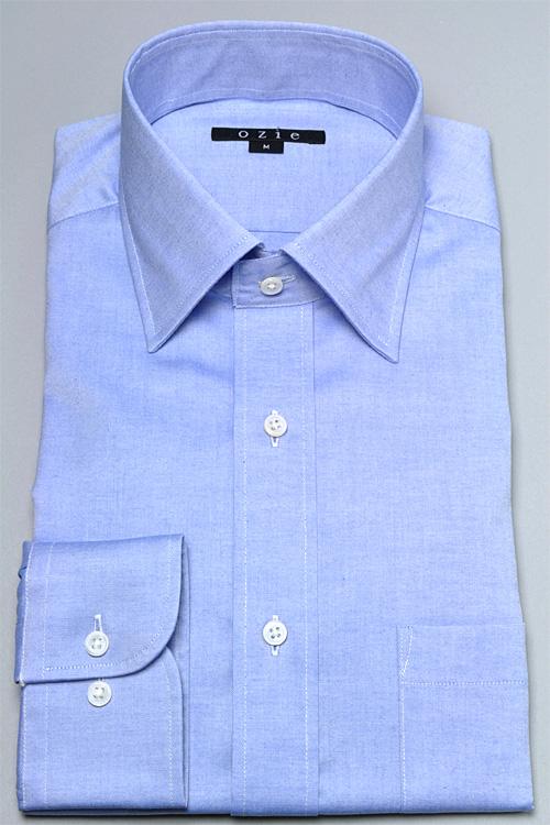 8023-L09A-3 形態安定ワイドカラーシャツ