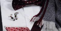 ozie|オジエ 8070-E11A 120番手双糸使用生地シャツ・ホリゾンタルカラー