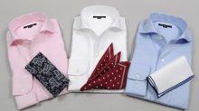 ozie|オジエ 8045 イタリアンカラーのワイドシャツ