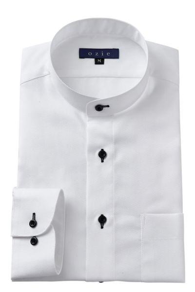 ozie|オジエ 衣装提供「あまんじゃく」大鷹明良さんの着用 8063-E05A スタンドカラーシャツ