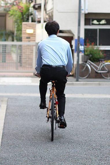 ozie|オジエ 自転車通勤 ビズポロニットシャツ