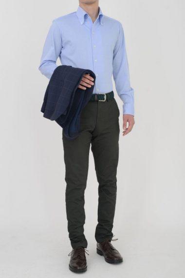 zie|オジエ ビズポロニットシャツ 8054-Y03A イタリアンカラー