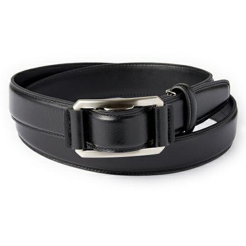 ozie|オジエ KE21348-19-BLACK 【ベルト】 ピン無し・穴なし・牛革・ブラック・日本製