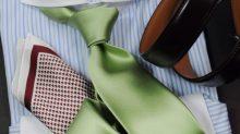ozie|オジエ 華やかなセレモニースタイル・ホリゾンタルカラーのダブルカフスシャツ 8006cl-e08①