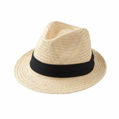 ozie|オジエ 帽子・パナマハット・中折れハット・ブラック・日本製・HT-N-KEH1943-19-BLACK